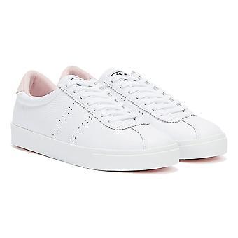 Superga 2843 Sport Club S Womens White / Pink Trainers