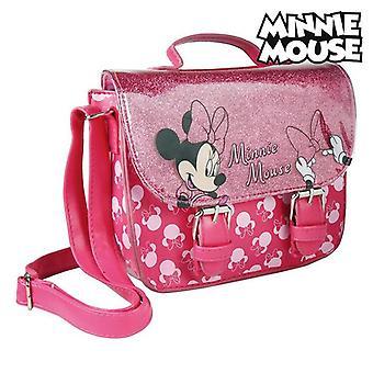 Shoulder Bag Minnie Mouse 72889 Fuchsia