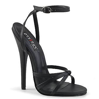 Devious Women's Shoes DOMINA-108 Blk Pu