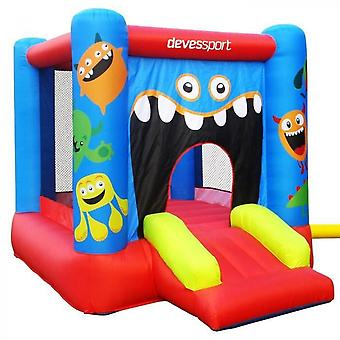 Inflatable Castle 280 X 210 X 185 Cm - Inflatable Monster Playground Structure - Inflator Included