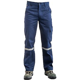 Worker Safety Pants 16/12 Gray