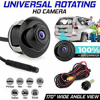 (Camera+Cable) Rotating HD Car Rear View Camera Reversing Parking Cam Night Vision Waterproof
