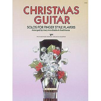 Julgitarr - Solos för fingerstilspelare Noter