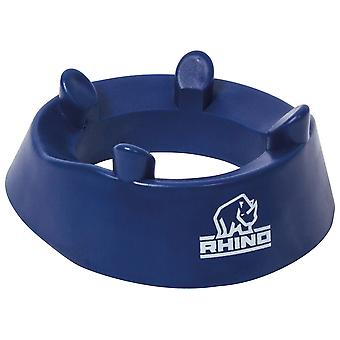 Rhino Rugby League Union Club Kicking Tee Blu