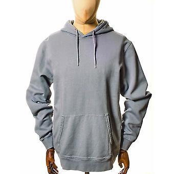 Colorful Standard Organic Cotton Hooded Sweat - Steel Blue