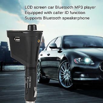 Lcd Car Kit Bluetooth Mp3 Player Fm Transmitter Modulator Mmc Usb Remote