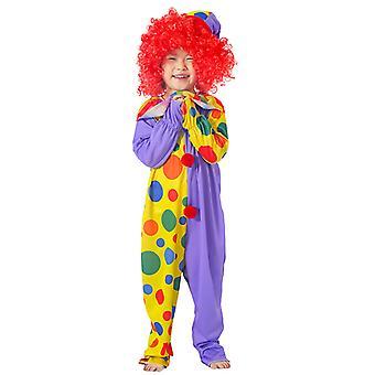 Klovn Kostume Circus Stage Cosplay