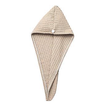 Yunyun Trockene Haarkappe Super saugfähige schnell trocknende Kappe Dicke Faser-Duschhaube
