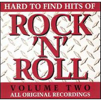 Hard to Find Hits of Rock N - Hard to Find Hits of Rock N: Vol. 2-Hard to Find Hits of Ro [CD] USA import