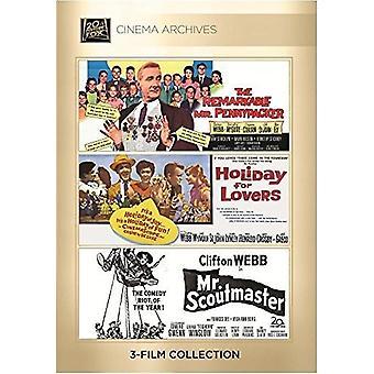 Importación de USA de Clifton Webb Set [DVD]