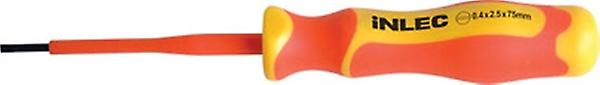 Specialist Inlec Slotted Screwdriver With 1000V Fully Insulated Soft Grip 125 mm X 5.5 mm