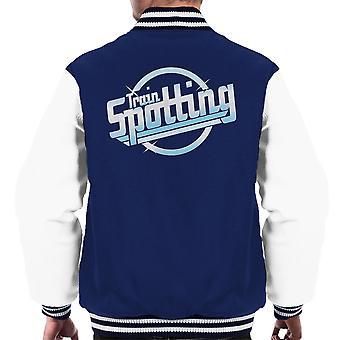 Trainspotting T2 az ütések logo férfiak ' s Varsity Jacket