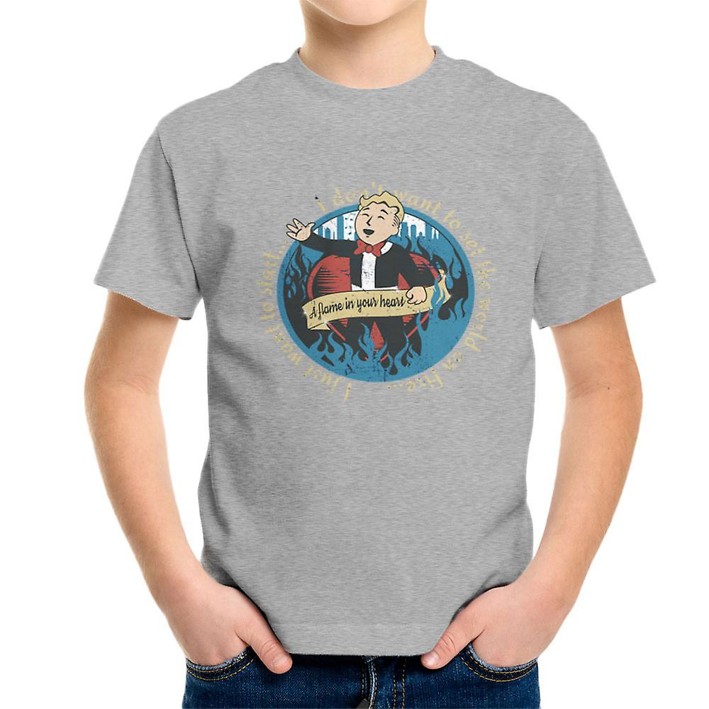 A flame in your heart fallout the ink spots kid 39 s t shirt for Ink spot t shirts