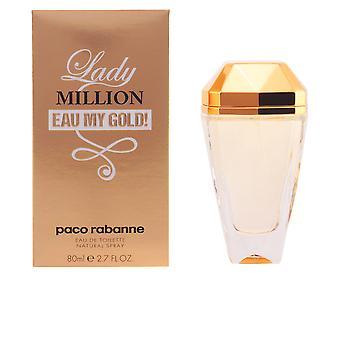Paco Rabanne Lady Million Eau mio oro! EDT Spray 80 Ml per le donne