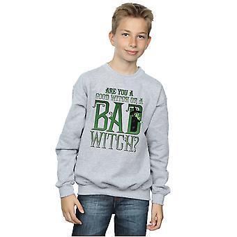 The Wizard Of Oz Boys Good Witch Bad Witch Sweatshirt