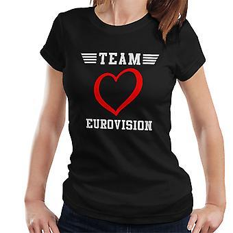 Team Eurovision Top Gun Style Women's T-Shirt
