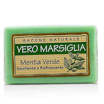 Nesti Dante Vero Marsiglia Natural Soap - Spearmint (émollient et émollient; Rafraîchissant) - 150g/5.29oz