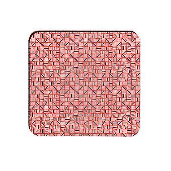 Melamaster Diced Square Moulded Coaster