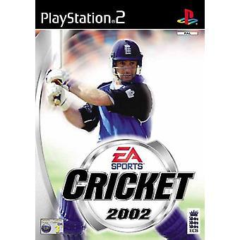 EA Sports Cricket 2002 (PS2) - Uutena