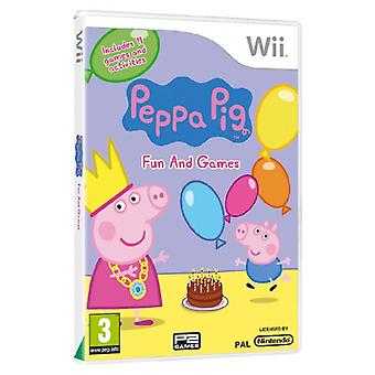 Peppa Pig Fun and Games (Wii) - New
