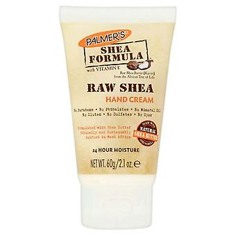 Palmer's Shea boter formule Raw Shea Hand Crème Tube 60g