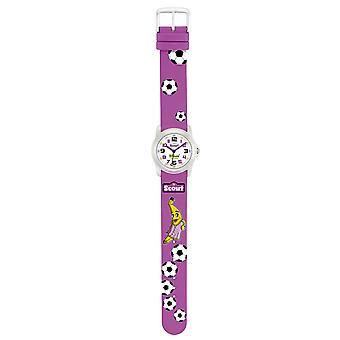 Harcerz dziecko zegarek nauki Zespół bananowy flanki dziewczyna oglądać fioletowy 280307002