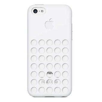 5 Pack -Original Apple Silicone Case for iPhone 5C - White