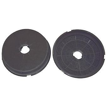 Paquete de filtro de carbón de leña campana Baumatic tipo ST1 carbono de 2