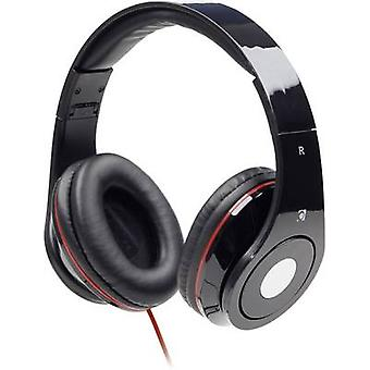 Gembird Detroit On-ear headphones On-ear Foldable, Headset Black
