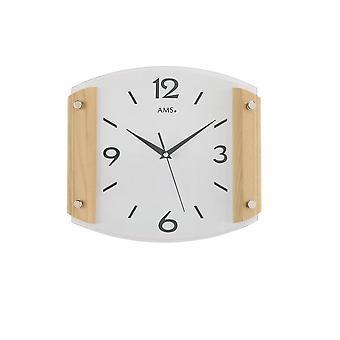 Wall clock radio AMS - 5938-18