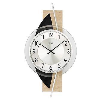Horloge murale AMS - 9551