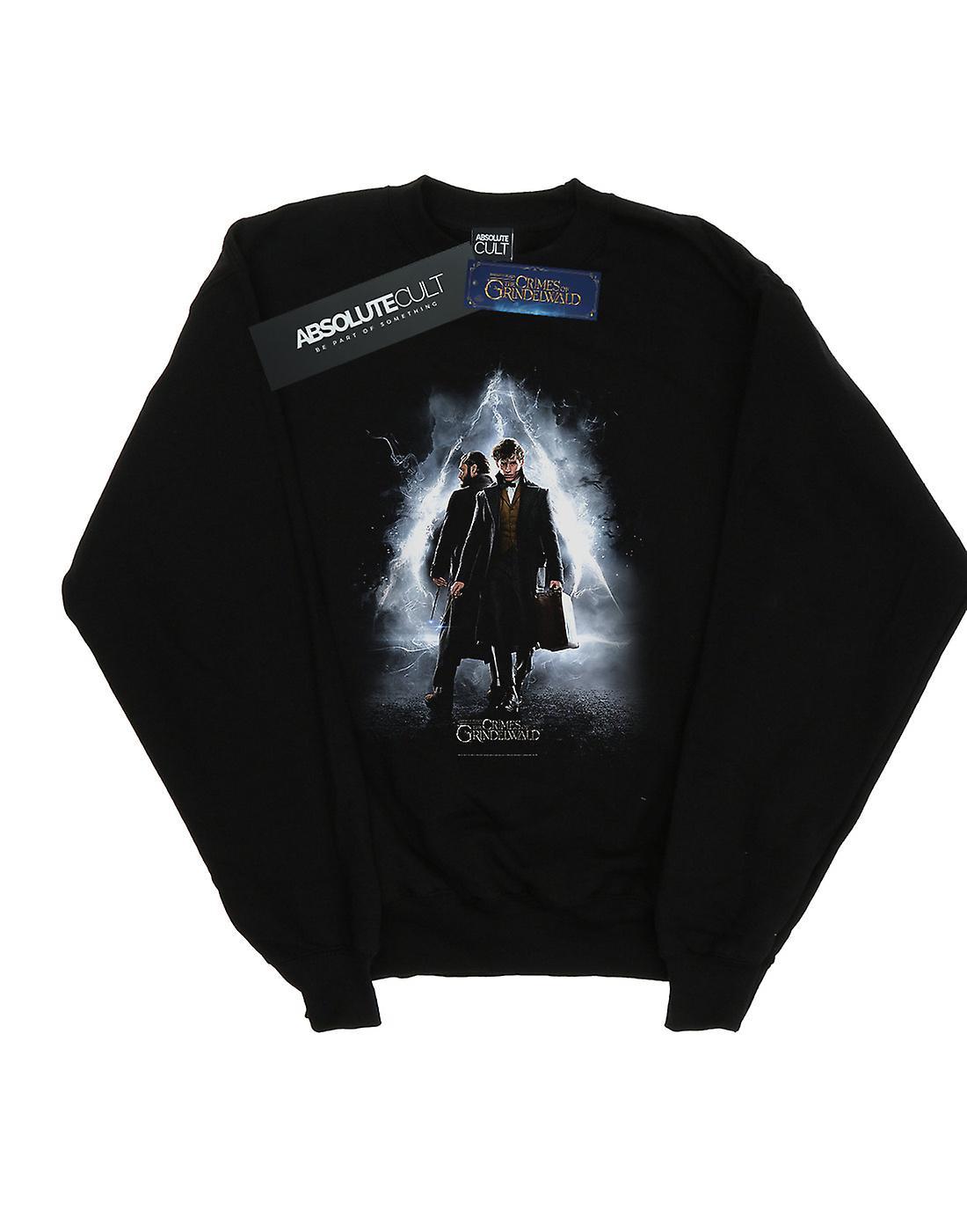 Fantastic Beasts Women's Newt And Dumbledore Poster Sweatshirt