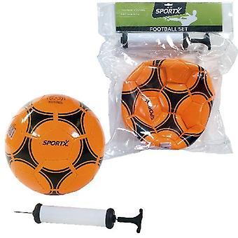 SportX Voetbal + Luchtpomp