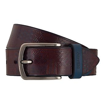 MIGUEL BELLIDO sports wear belts men's belts leather belt blue 7707