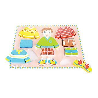 Bigjigs Toys Dressing Boy Puzzle