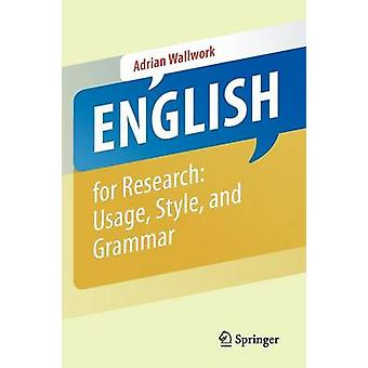 English for Research - Usage - Style - and Grammar (1st ed. 2013 - Cor
