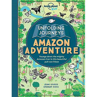 Dépliage voyages Amazon Adventure par Lonely Planet Kids - Stewart R