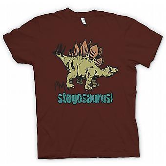 Дети футболку - Im стегозавра - прохладный динозавров