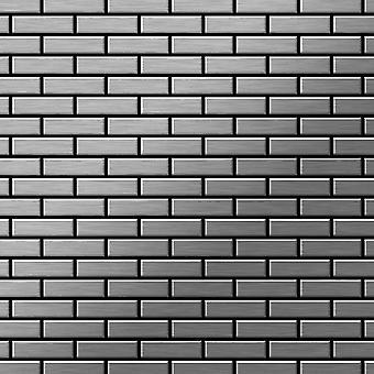 Mosaico de metal sólido Acero inoxidable ALLOY PK-S-S-MB
