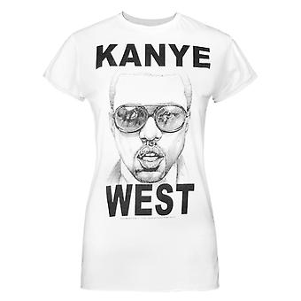 Amplified Kanye West Mercy Women's T-Shirt White