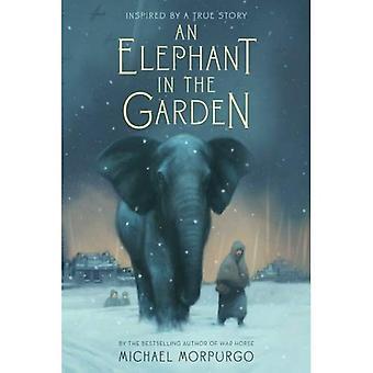 Ein Elefant im Garten