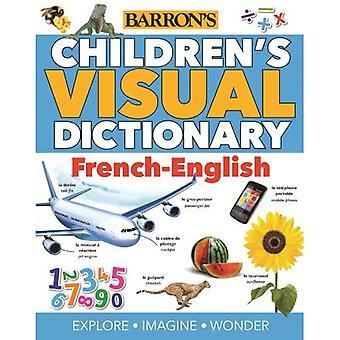Barns visuella ordbok: fransk-engelska (barns visuella ordlistor)