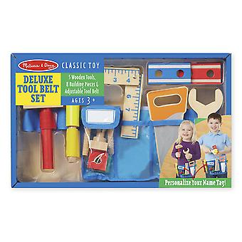 Childrens Melissa and Doug Deluxe Tool Belt Set Age 3+ Fancy Dress Accessory