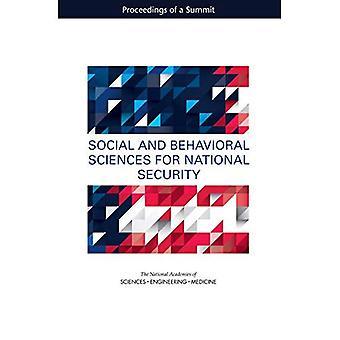 Nauk społecznych i behawioralnych dla bezpieczeństwa narodowego: postępowanie szczytu
