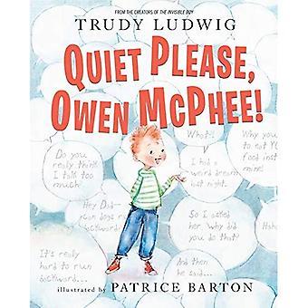 Hiljaisuutta Owen McPhee!