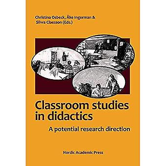 Didactic Classroom Studies: A Potential Research Direction