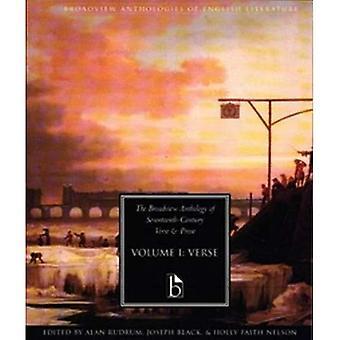 L'anthologie de Broadview Prose et vers XVIIe siècle