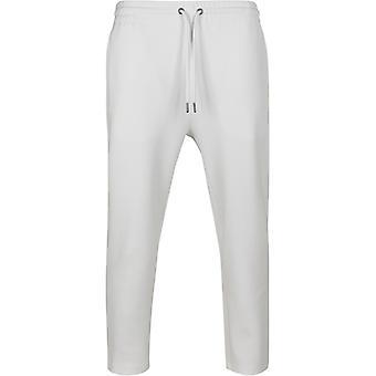 Urban Classics - Cropped Heavy Pique Pants weiß
