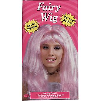Crystal Pink Wig For Women