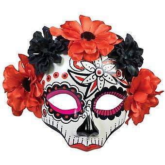 Day Of Dead Skull Mask For Women